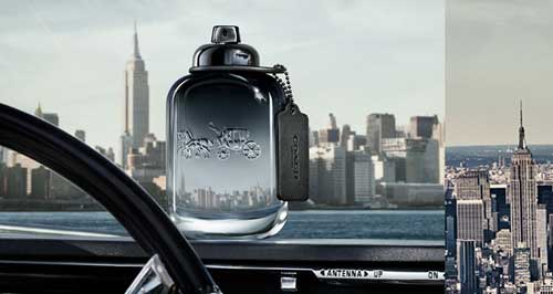 Coach Platinum Perfume For Men reklama